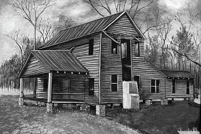 Painting - Old House  by Virginia Bond