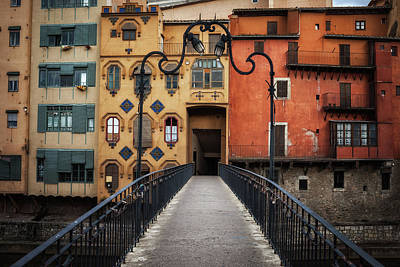 Photograph - Old Houses Of Girona by Artur Bogacki