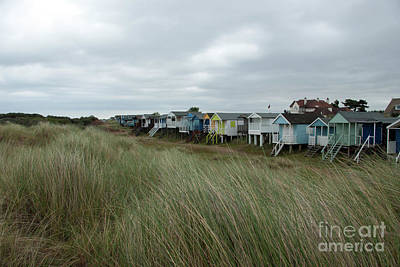 Norfolk Photograph - Old Hunstanton Beach Huts by John Edwards