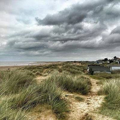 Norfolk Wall Art - Photograph - Old Hunstanton Beach, North #norfolk by John Edwards