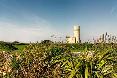 Old Hunstanton Lighthouse North Norfolk Uk Art Print by John Edwards