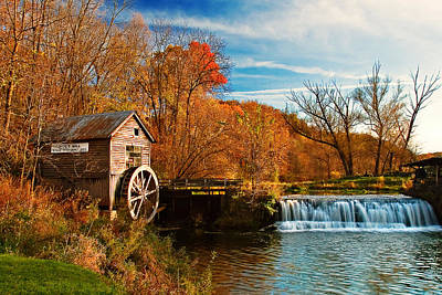 Old Mills Photograph - Old Hyde Mill by Todd Klassy