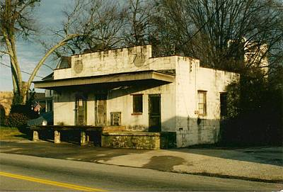 Photograph - Old Icehouse In Chamblee Georgia by Bryan Bustard