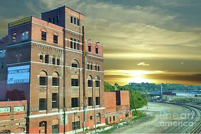 Photograph - Old Imperial Brewery In Kansas City by Janette Boyd