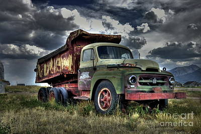 Photograph - Old International #2 by Tony Baca
