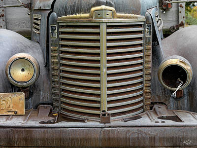 Photograph - Old International Truck by Leland D Howard