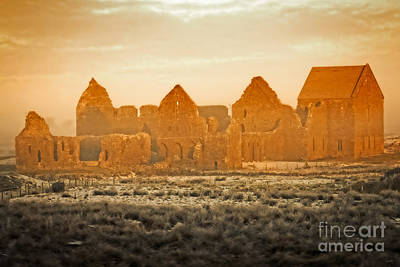 Photograph - Old Irish Ruins by Imagery by Charly