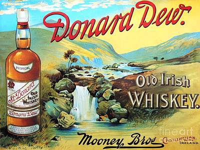 Painting - Old Irish Whiskey by Roberto Prusso