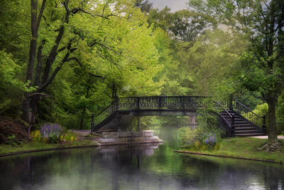 Photograph - Old Iron Bridge by Robin-Lee Vieira