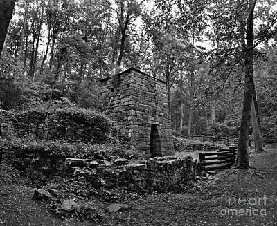 Photograph - Old Iron Ore Furnace by Eric Liller