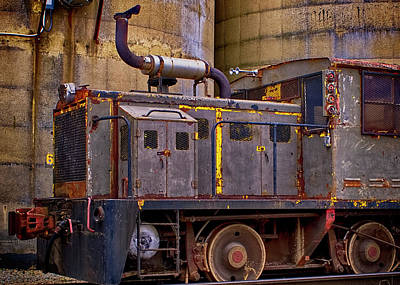 Photograph - Old Iron Workhorse by Ron Grafe