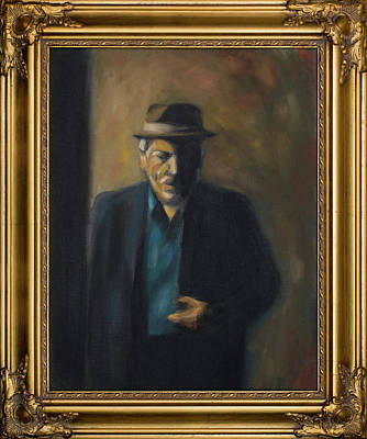 Painting - Old Italian Geezer by Seamas Culligan