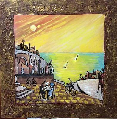 Painting - Old Jaffa  by Mimi Eskenazi