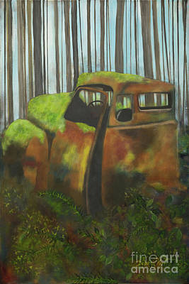 Painting - Old Jalopy by Deborha Kerr