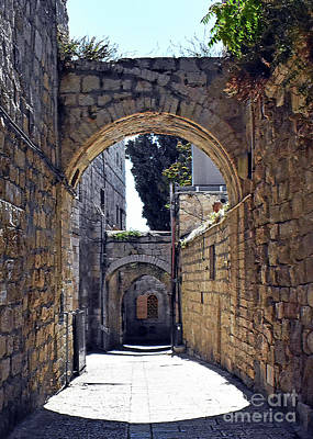 Photograph - Old Jerusalem 3 by Lydia Holly