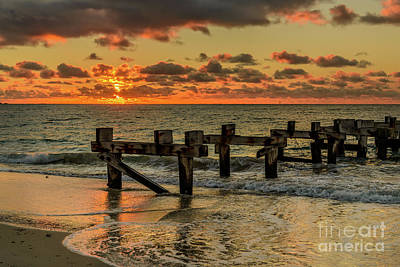 Photograph - Old Jetty by Werner Padarin