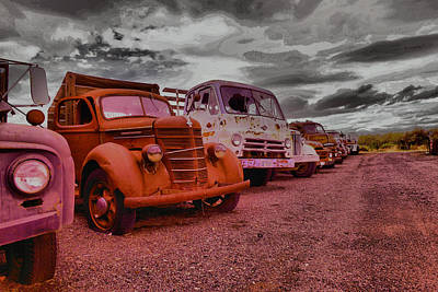 Old Trucks Photograph - Old Jewels by Jeff Swan