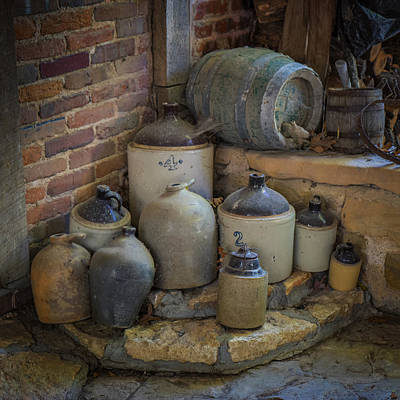 Photograph - Old Jugs Color - Dsc08891 by Greg Kluempers