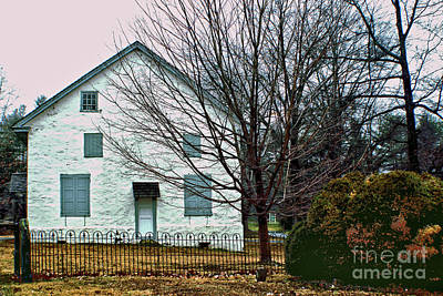 Photograph - Old Kennett Mettinghouse by Sandy Moulder