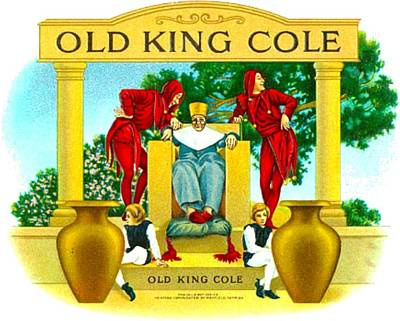 Drawing - Old King Cole  by Marianne Dow