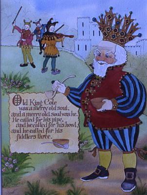 Old King Cole Art Print by Victoria Heryet