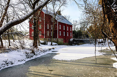 Old Mills Photograph - Old Kirbys Mill by Louis Dallara