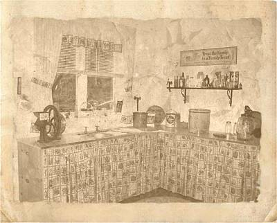 Photograph - Old Kitchen by Colette Merrill