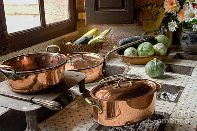 Photograph - Old Kitchen by Patricia Hofmeester
