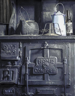 Photograph - Old Kitchen Stove by Al Reiner