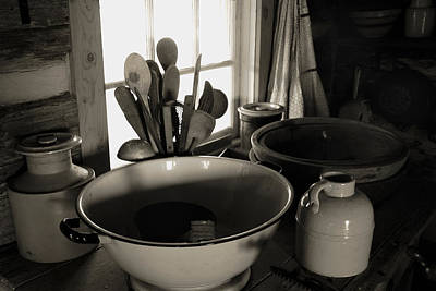 Art Print featuring the photograph Old Kitchen Stuff by Joanne Coyle