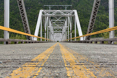 Photograph - Old Knik River Bridge by Sara Hudock