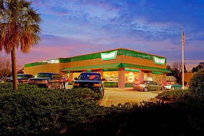 Photograph - Old Krispy Kreme In Cayce by Joseph C Hinson Photography