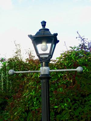 Photograph - Old Lamp Post by Stephanie Moore