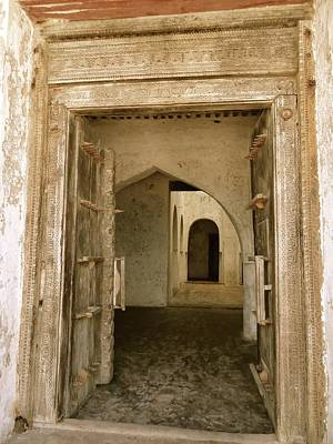 Exploramum Wall Art - Photograph - Old Lamu Town - Carved Old Door And Doorways by Exploramum Exploramum