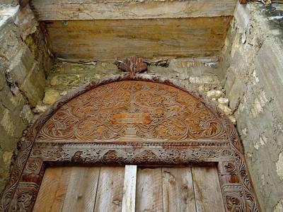 Exploramum Wall Art - Photograph - Old Lamu Town - Carved Old Door by Exploramum Exploramum