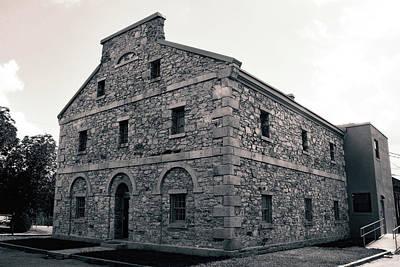 Photograph - Old Lancaster Jail 23 B W 1 by Joseph C Hinson Photography