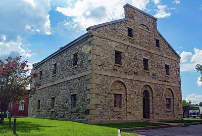Photograph - Old Lancaster Jail 24 Color by Joseph C Hinson Photography