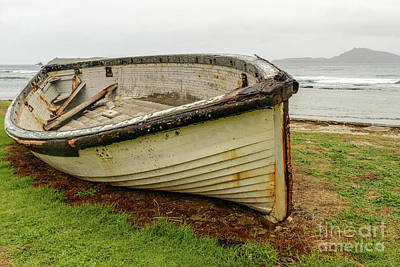 Photograph - Old Lighter Boat by Werner Padarin