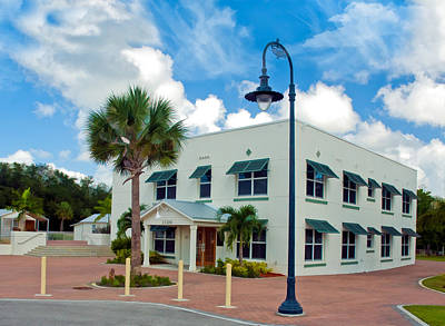 Photograph - Old Liles Hotel In Bonita Springs by Ginger Wakem
