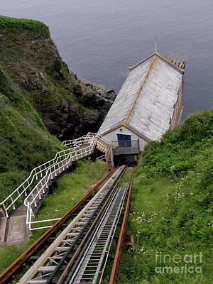 Photograph - Old Lizard Lifeboat Station Kilcobben Cove by Terri Waters