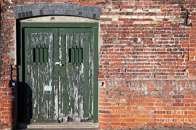 Kings Lynn Photograph - Old Locked Dock Side Doors by Simon Bratt Photography LRPS