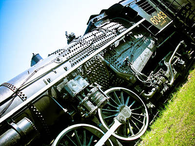 Old Locomotive 01 Art Print