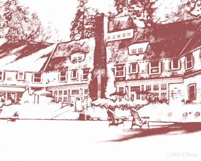 Old Lodge 1 Art Print