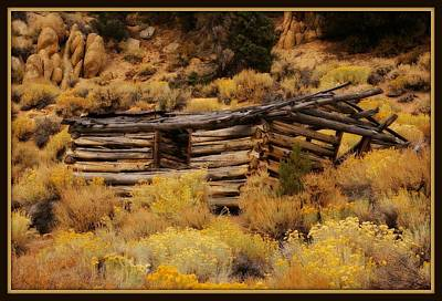 Photograph - Old Log Cabin 3 by Sherri Meyer