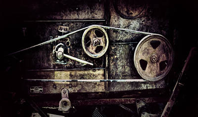 Photograph - Old Machine by Pat Cook