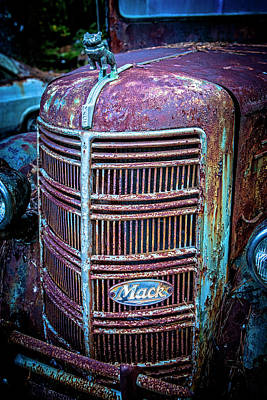 Photograph - Old Mack Grille by Rod Kaye