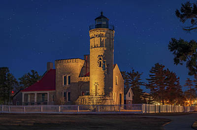 Photograph - Old Mackinac Point Lighthouse by Gary McCormick