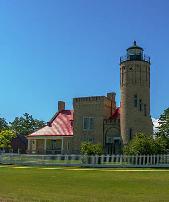 Photograph - Old Mackinac Point Lighthouse by Jeff Kurtz