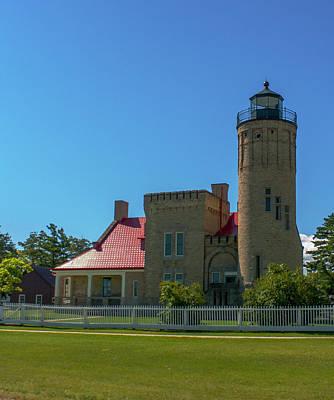 Photograph - Old Mackinac Point Lighthouse by Jeff Kurtz