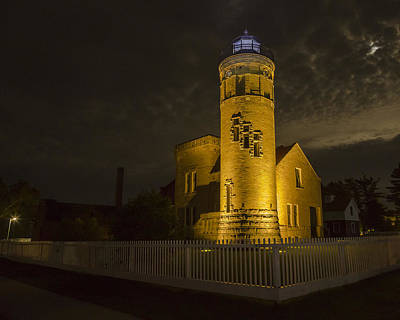 Photograph - Old Mackinac Point Lighthouse - Mackinaw City, Mi by Jack R Perry